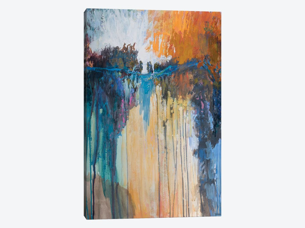 Cascading Memories II 1-piece Canvas Wall Art