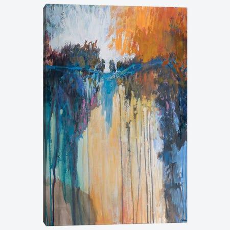 Cascading Memories II 3-Piece Canvas #MTH82} by Michael Tienhaara Canvas Artwork
