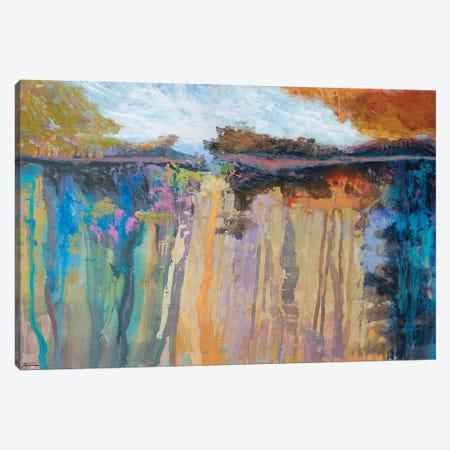 Cascading Memories III 3-Piece Canvas #MTH83} by Michael Tienhaara Canvas Art