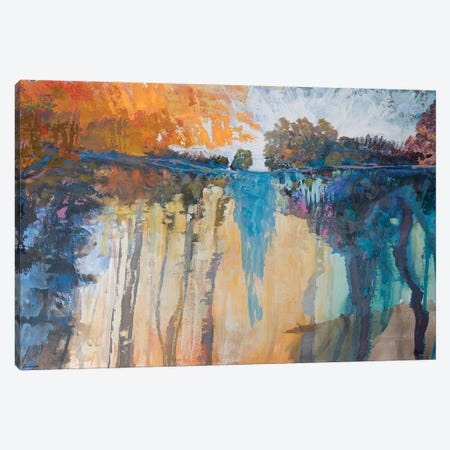 Cascading Memories IV 3-Piece Canvas #MTH84} by Michael Tienhaara Canvas Print