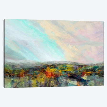 Formations Big Sky I 3-Piece Canvas #MTH87} by Michael Tienhaara Art Print