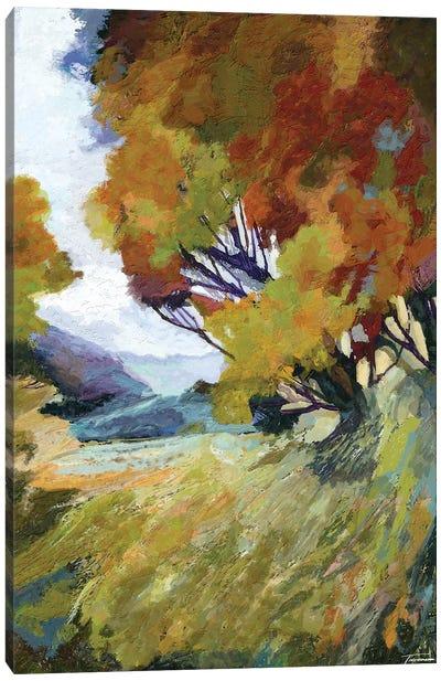 Autumn Bloom Canvas Art Print
