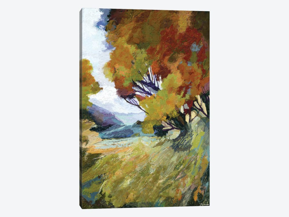 Autumn Bloom by Michael Tienhaara 1-piece Canvas Art