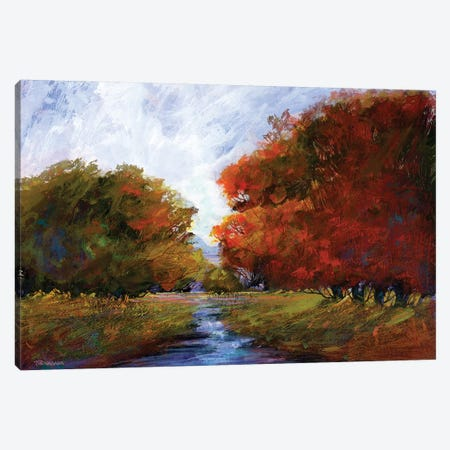 Autumn Intrigue I Canvas Print #MTH9} by Michael Tienhaara Canvas Art