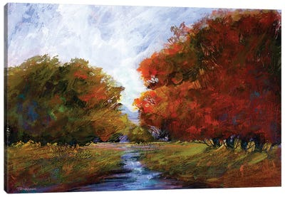 Autumn Intrigue I Canvas Art Print