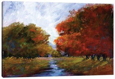 Autumn Intrigue I Canvas Art Print