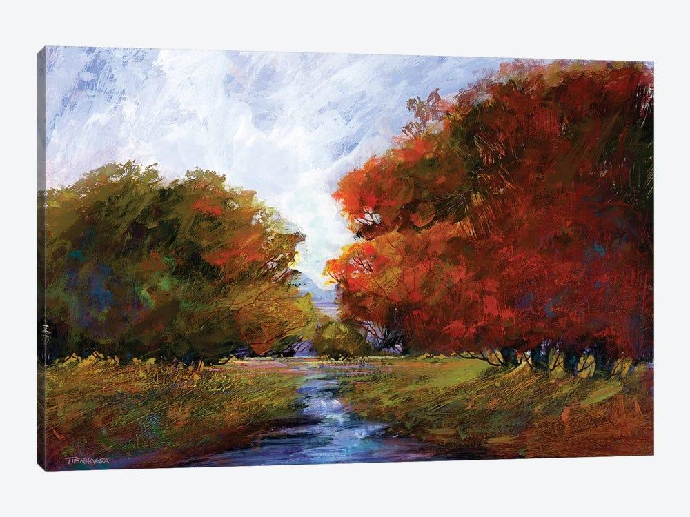 Autumn Intrigue I by Michael Tienhaara 1-piece Canvas Art Print