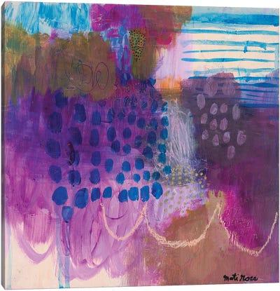 Lilac Season Canvas Art Print