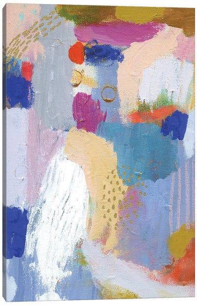 Major Elle Blue Canvas Art Print
