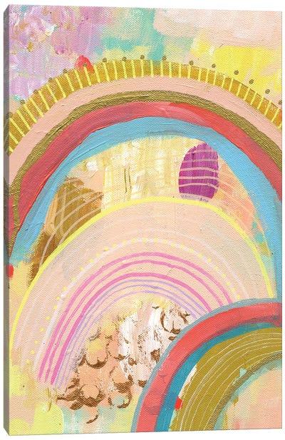 Neon Dreams Canvas Art Print
