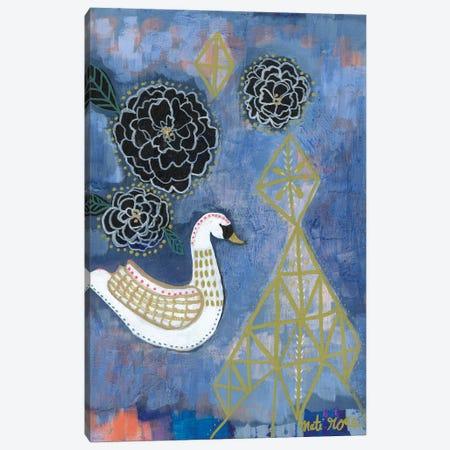Sariah Swan Canvas Print #MTI25} by Mati Rose Canvas Artwork