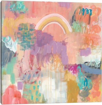 Arc Of Color Canvas Art Print