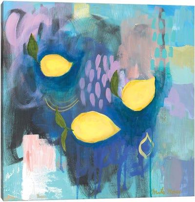 Tropea Lemons Canvas Art Print