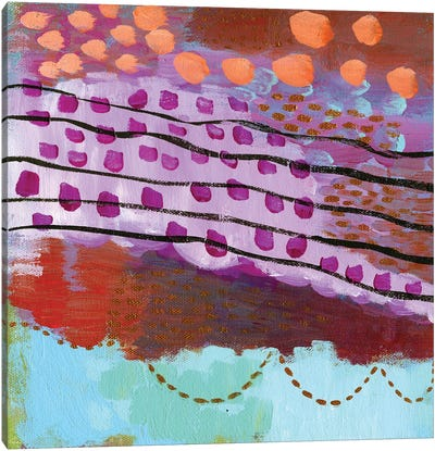 Cote Dazur Canvas Art Print