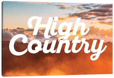 High Country Canvas Art Print