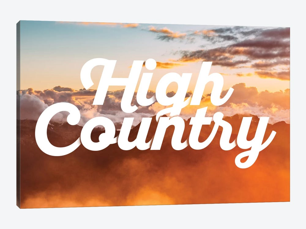 High Country by 5by5collective 1-piece Canvas Art Print