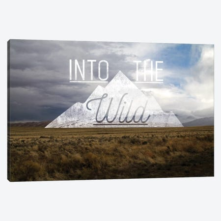 Into the Wild Canvas Print #MTM3} by 5by5collective Canvas Print