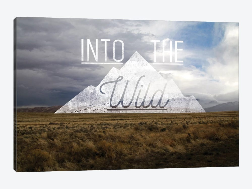 Into the Wild by 5by5collective 1-piece Canvas Artwork