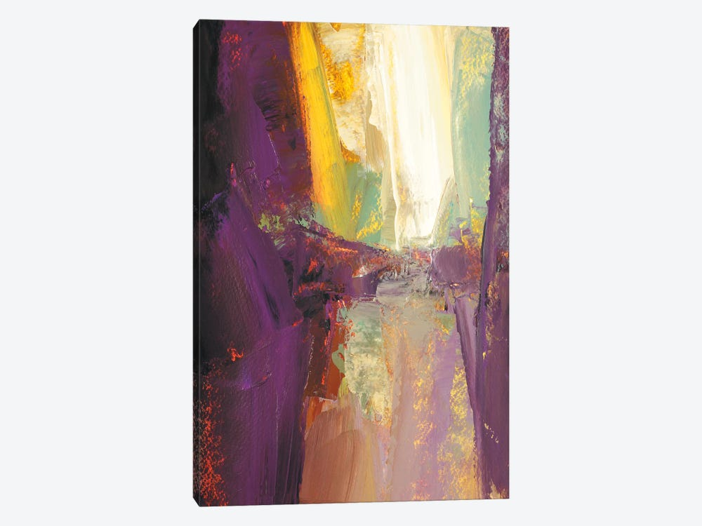 Violet Falls by Martin Shire 1-piece Canvas Wall Art
