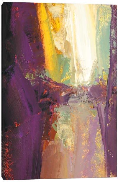 Violet Falls Canvas Art Print