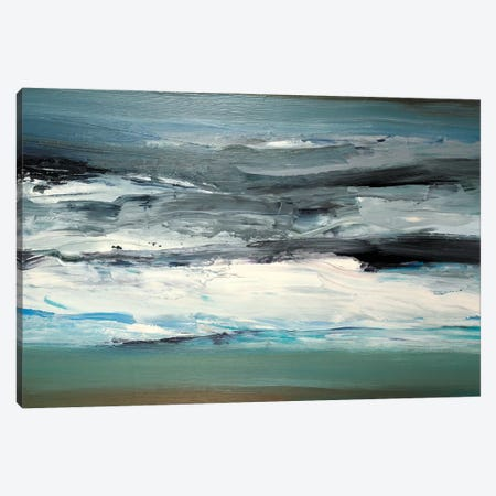 Maple Lake Canvas Print #MTN6} by Martin Shire Canvas Print