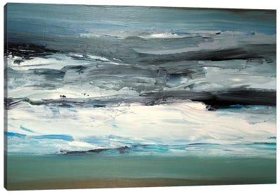 Maple Lake Canvas Art Print