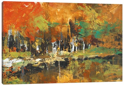 Mirrored Canvas Art Print