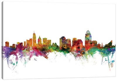 Cincinnati, Ohio Skyline Canvas Art Print
