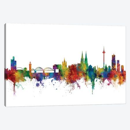 Cologne, Germany Skyline Canvas Print #MTO1014} by Michael Tompsett Canvas Art