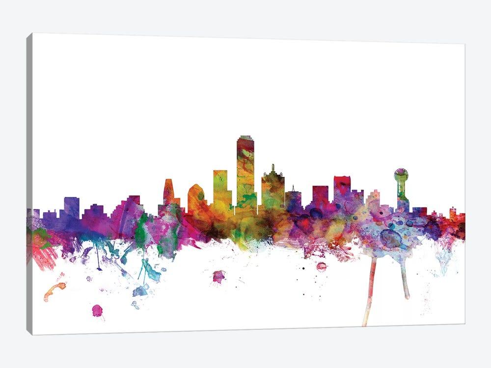 Dallas, Texas Skyline by Michael Tompsett 1-piece Art Print
