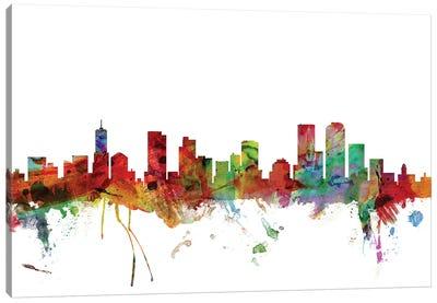 Denver, Colorado Skyline Canvas Art Print
