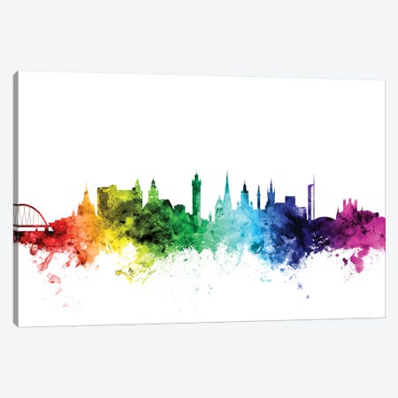 Glasgow, Scotland, United Kingdom Canvas Print #MTO102} by Michael Tompsett Canvas Artwork