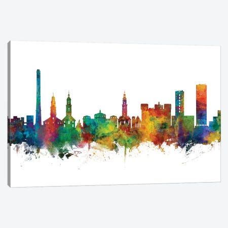Erlangen, Germany Skyline Canvas Print #MTO1036} by Michael Tompsett Canvas Art