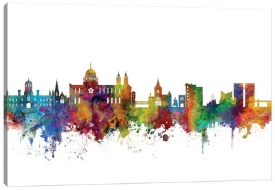 Galway, Ireland Skyline Canvas Art Print