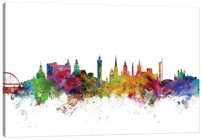 Glasgow, Scotland Skyline Canvas Art Print