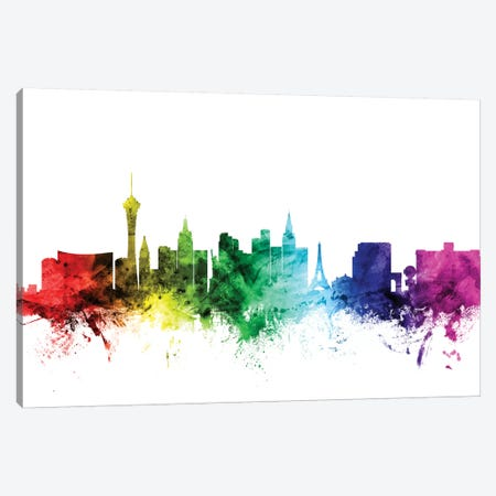 Las Vegas, Nevada, USA Canvas Print #MTO104} by Michael Tompsett Canvas Art Print