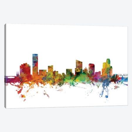 Grand Rapids, Michigan Skyline Canvas Print #MTO1051} by Michael Tompsett Canvas Art Print