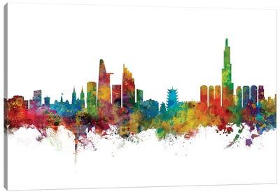 Ho Chi Minh City, Vietnam Skyline Canvas Art Print