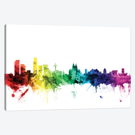 Liverpool, England, United Kingdom Canvas Print #MTO105} by Michael Tompsett Canvas Print