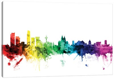 Liverpool, England, United Kingdom Canvas Art Print
