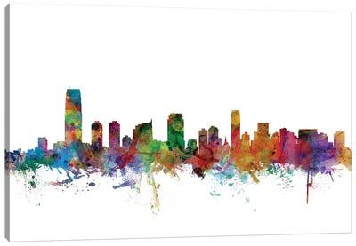 Jersey City, New Jersey Skyline Canvas Art Print
