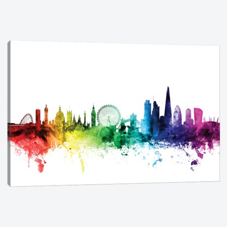 London, England, United Kingdom I Canvas Print #MTO106} by Michael Tompsett Art Print