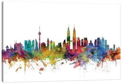 Kuala Lumpur, Malaysia Skyline Canvas Art Print