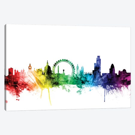 London, England, United Kingdom II Canvas Print #MTO107} by Michael Tompsett Canvas Art Print