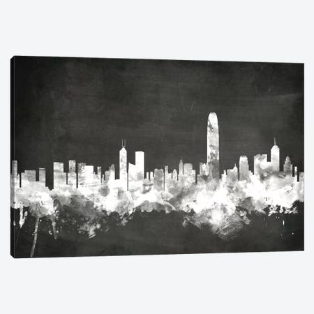 Hong Kong, People's Republic Of China Canvas Print #MTO10} by Michael Tompsett Canvas Artwork