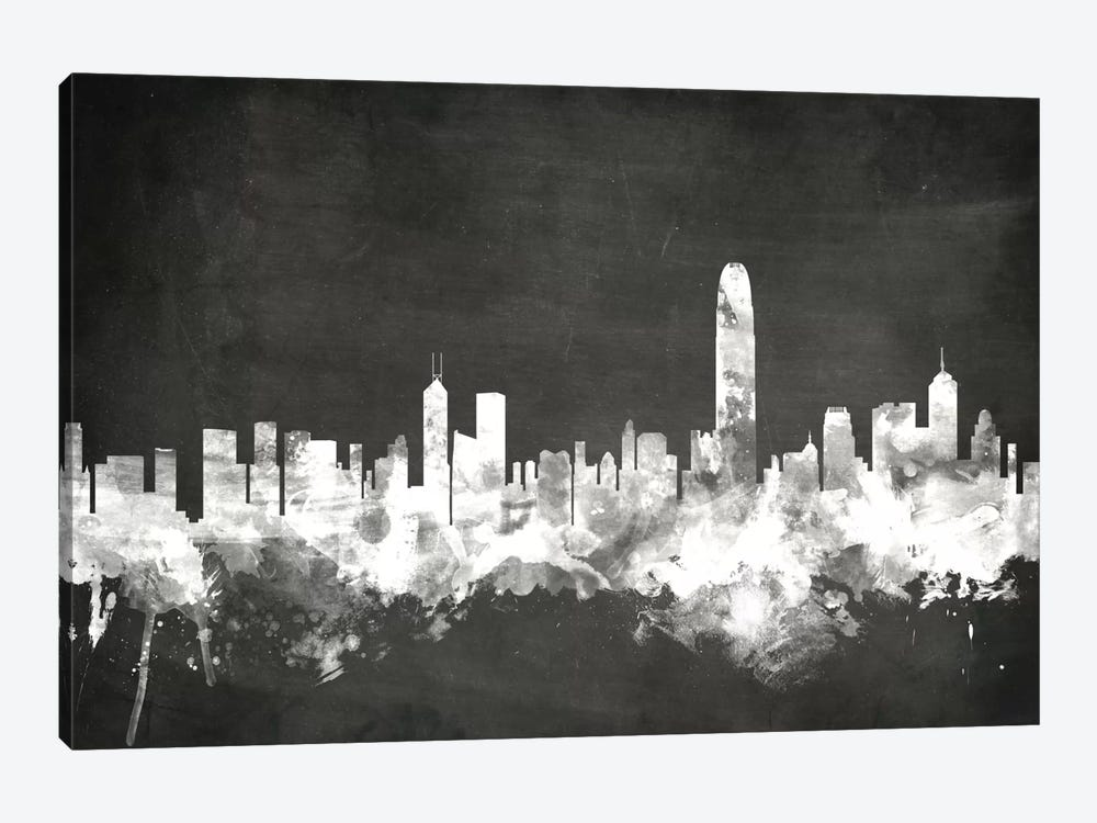 Hong Kong, People's Republic Of China by Michael Tompsett 1-piece Canvas Artwork