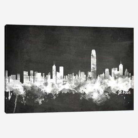 Hong Kong, People's Republic Of China Canvas Print #MTO10} by Michael Tompsett Canvas Artwork