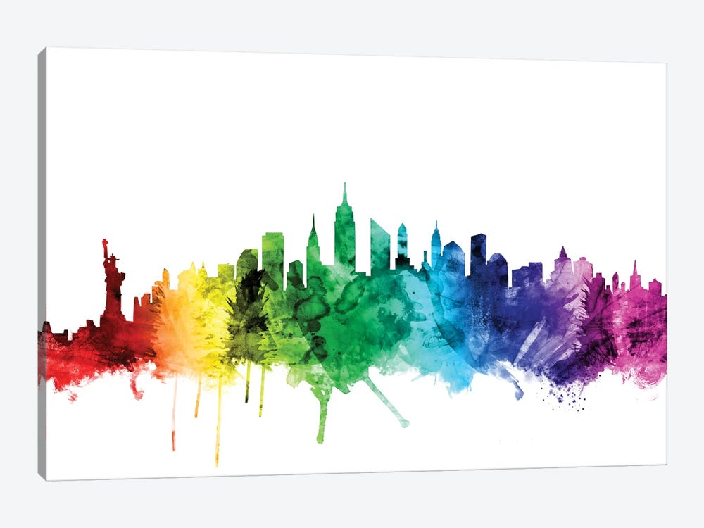New York City, New York, USA II by Michael Tompsett 1-piece Art Print