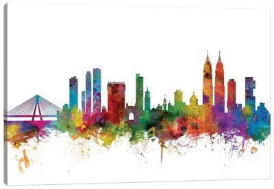 Mumbai (Bombay), India Skyline  Canvas Art Print