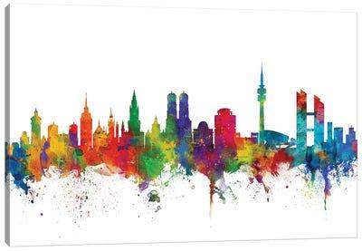 Munich, Germany Skyline Canvas Art Print